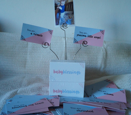 Baby Blessing Cards